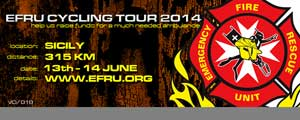 E.F.R.U. Cycling Tour 2014, Sicily