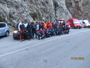 EVOL-SAR – Technical Rope Rescue Training Course in Greece last January