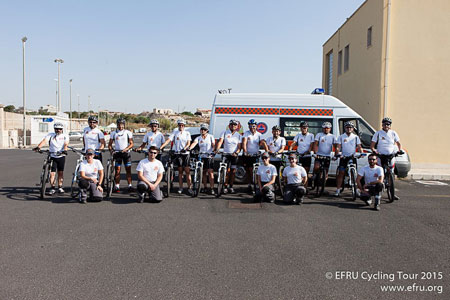 EFRU Cycling Tour 2015