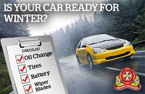 How to prepare your vehicle for the cold winter months.