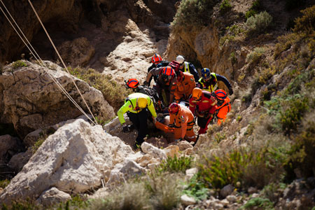 Synergising European Volunteer Rescue Teams – Malta – Feb 2016